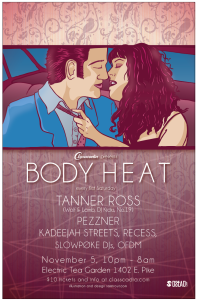 body heat flyer